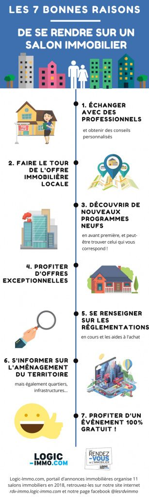 INFOGRAPHIE 7 CLES SALONS IMMO