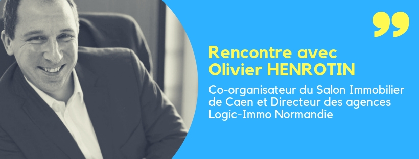 Interview de l'organisateur du salon immobilier de Caen